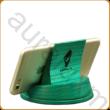 Asztali telefontartó sárgára színezett kőrisfából