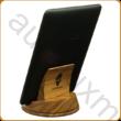 AURALUX asztali e-book tartó diófából