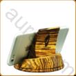 Telefon állvány zebránó fából