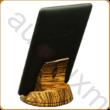 AURALUX asztali e-book tartó zebránó fából