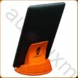AURALUX narancssárga e-book tartó kőrisfából
