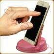Pink asztali mobiltartó