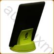AURALUX zöld e-book tartó kőrisfából