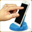 Kék telefon állvány