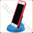 Kék asztali telefontartó