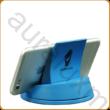 Kék asztali mobiltartó