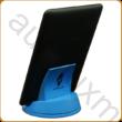 AURALUX kék e-book tartó kőrisfából
