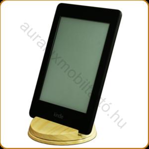 AURALUX asztali e-book tartó kőrisfából